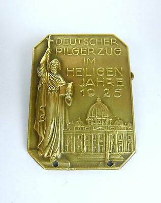 Other Flight Tracker Plaque Brooch German Pilgerzug In The Saints Years 1925 B-20 Vivid And Great In Style