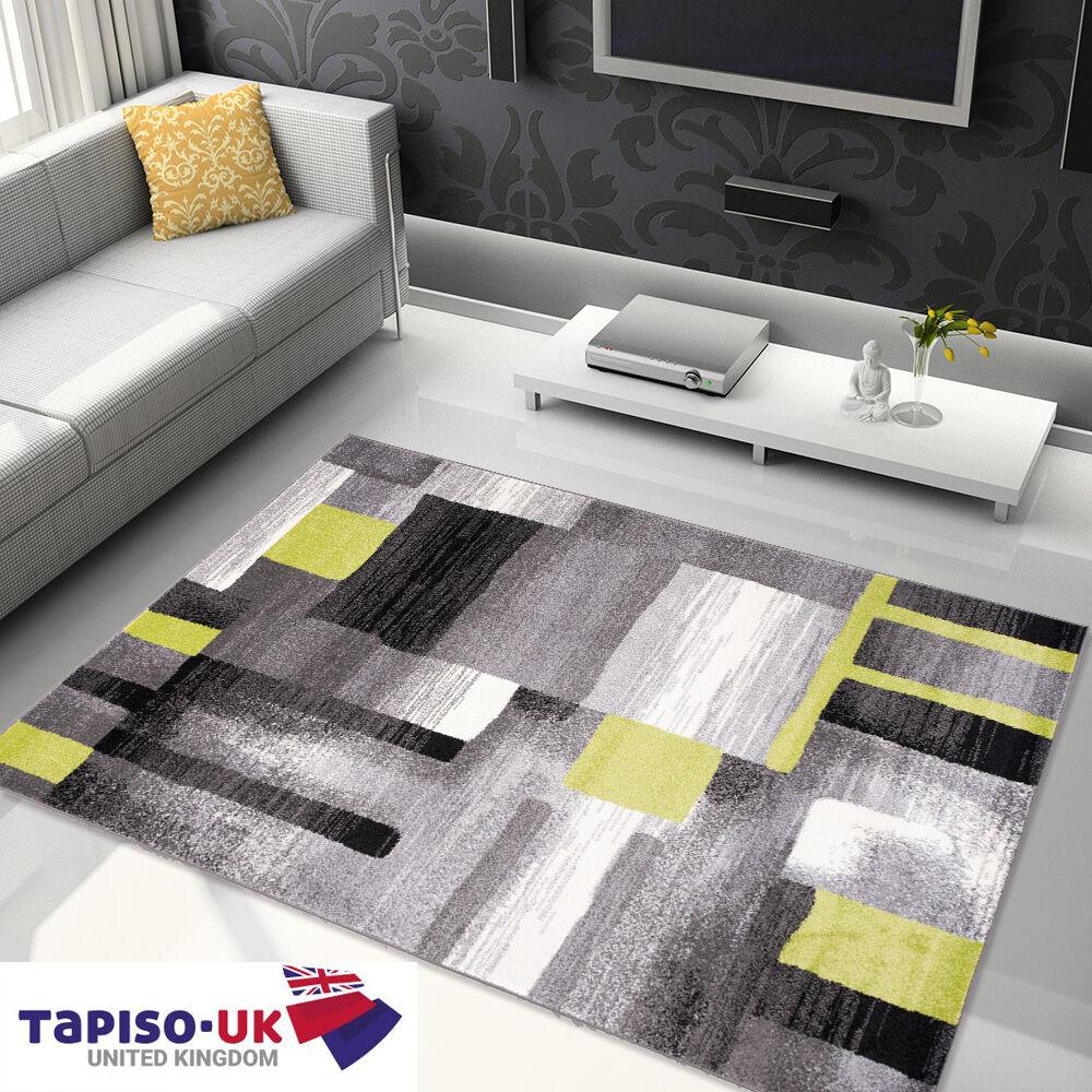 Tapis d'abstraction pour salle de séjour meilleur prix gris figures géométriques motif gris prix aef391
