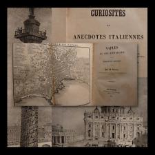 VIAGGI COLLEZIONE 1838-1842 - M. Valery : Voyage Sardegna Roma Milano Venezia