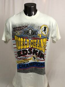 Image is loading WASHINGTON-REDSKINS-VINTAGE-1992-SUPER-BOWL-XXVI-CHAMPIONS- d73c5741a