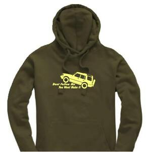 Unisex-Hoody-Hoodie-Land-Rover-Discovery-034-Don-039-t-Follow-Me-034-Logo