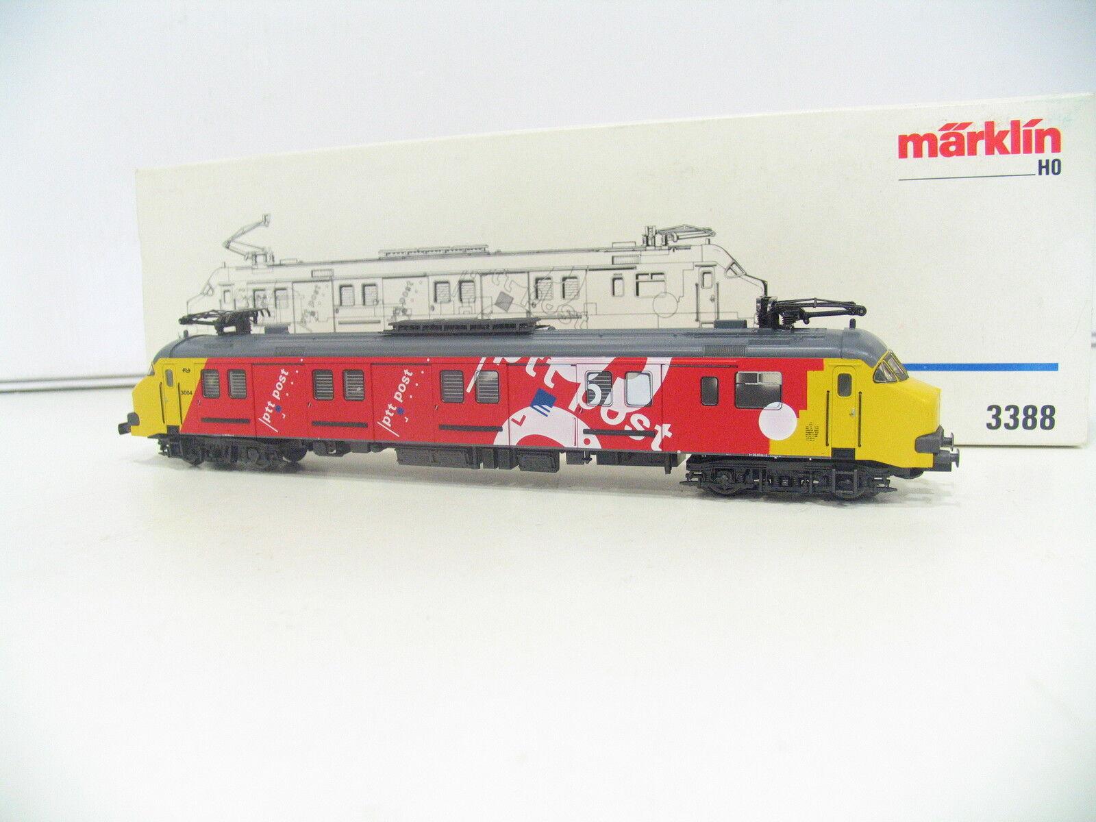 Märklin 3388 Post Railcars MP 3000 PTT NS jl526