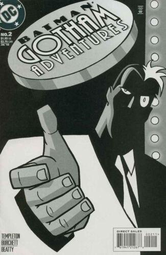 1998 SERIES TWO FACE APPEARANCE BATMAN GOTHAM ADVENTURES #2 NEAR MINT