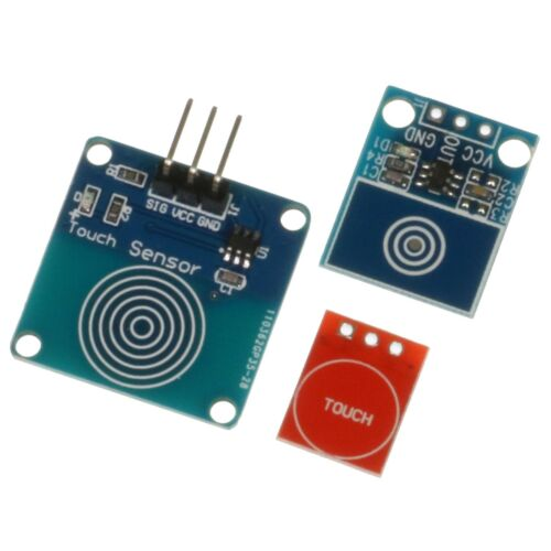 TTP223 Capacitive Touch Sensing PCB Module 2.5-5.5v Arduino Raspberry Pi Etc.