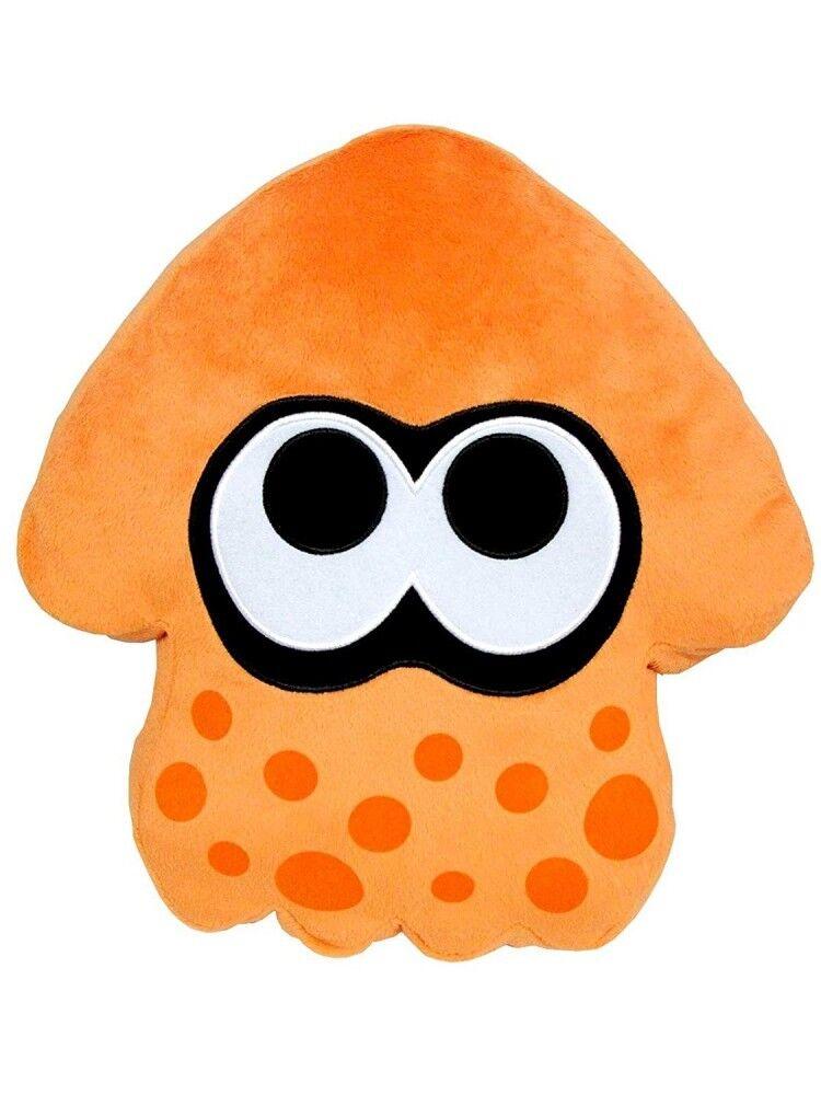 Sanei Boeki 35cm 13.77inch Splatoon 2 Squid Plush Cushion