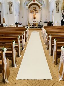 Details About Handmade Pew Ends Bows Church Wedding Flowers Decorations