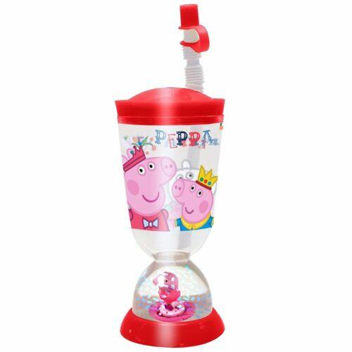 Trink-Becher mit Glitzer-SchneekugelPeppa WutzPeppa PigPlastikbecher