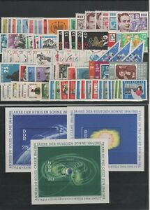 Germany-GDR-vintage-yearset-Yearset-1964-Mint-MNH-Without-Bl-19-complete
