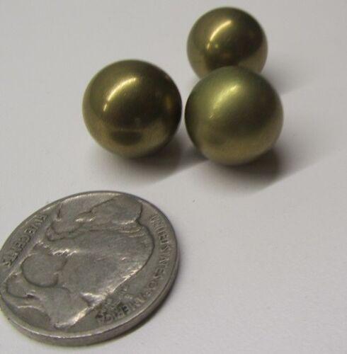 """10 Pcs 260 Brass Solid Balls 9//16/"""" Dia +//-.001/"""""""