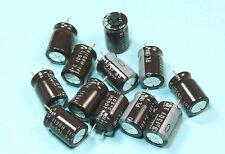 100pcs Nichicon PL 68uF 50v 105c Radial Electrolytic Capacitor Low ESR 8X12mm