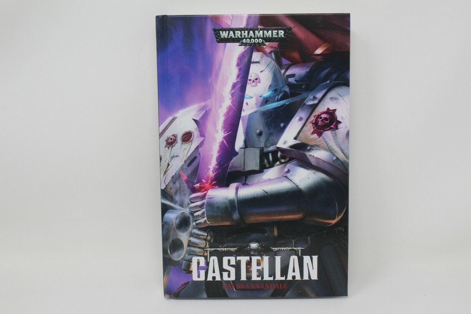 Warhammer Novel Castellan Hard Cover