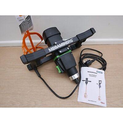 REFINA MEGAMIXER MM30/2 230V 1800W MIXER DRILL & 160MM PADDLE + SPONGE FLOAT