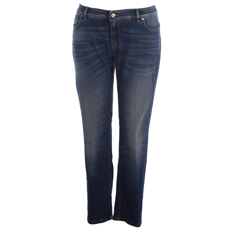 Marina Rinaldi Damen Med Wash Idrofono Wonder Fit Jeans Nwt
