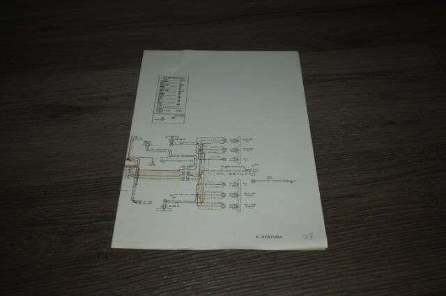 1977 Pontiac Ventura Factory Wiring Diagram W   Color