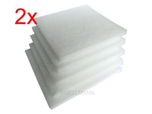10 Swirl Ersatzfilter für Limodor Lüfterserie compact G4-238x238 mm Filter