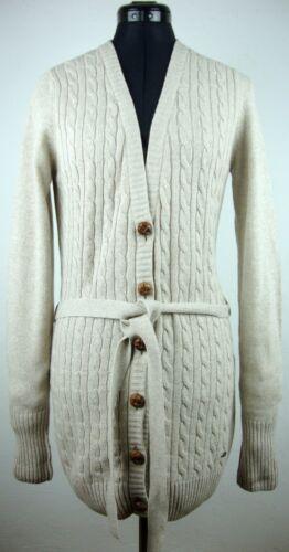 Gr maglia a con etichetta lavorato 38 maniche Pullover cardigan lunghe Nuovo con Lacoste a Ladies wnqA0Yqvf