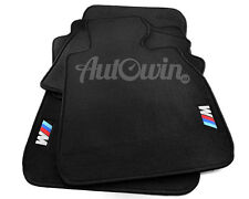 BMW X5 Series F15 Black Floor Mats with M Logo with Clips RHD UK NEW