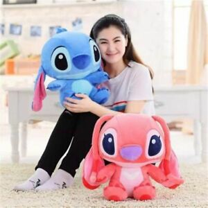 2Pcs-Lilo-Stitch-Animal-Plush-Soft-Touch-Stuffed-Doll-Figure-Kids-Birthday-Gift