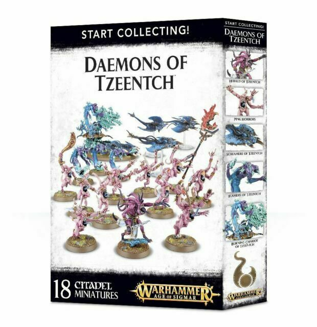 Start Collecting Daemons of Tzeentch Warhammer Age of Sigmar NIB Flipside