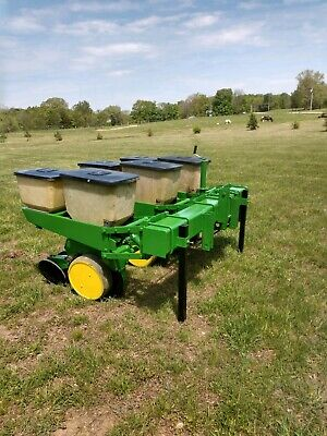John Deere 3 Row 7000 Corn Planter With Precision Finger Meters EBay