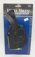 Uncle Mikes Kydex Thumb Break Belt Holster Glock 26, 27, 33 Pistol 5612-2 LH