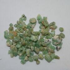 Beryl vert d'eau green - cab - 0,15€/g - 0,3-1,5 cm - Niger Aïr green beryl
