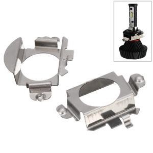 2x-H7-LED-Xenon-Ampoule-Adaptateur-Fixation-Support-Pour-Audi-VW-Nissan-Mercedes