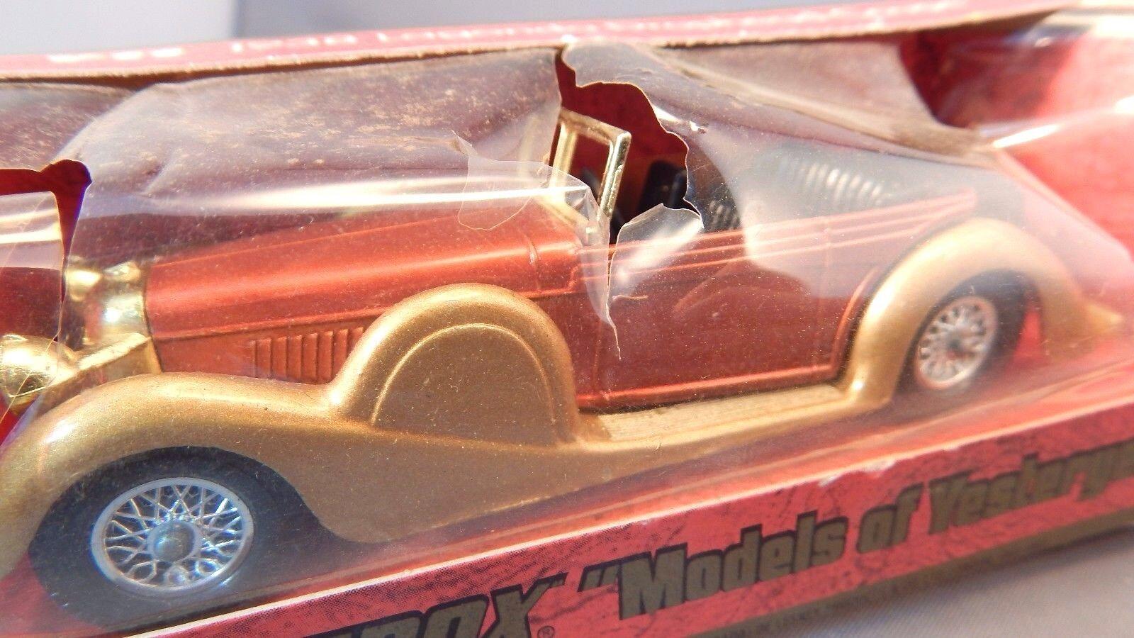Lesney Matchbox Models Of Yesteryear Y-11 1938 Lagonda Drophead Coupé y caja