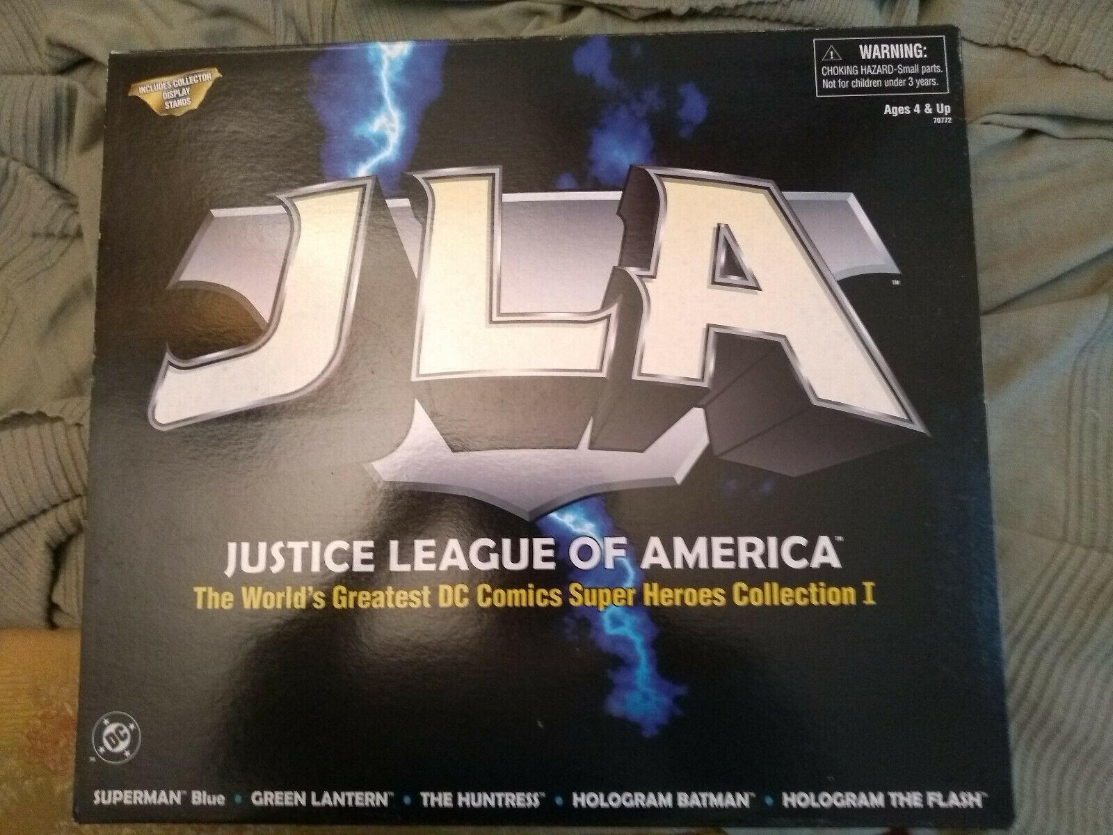 1999 99 DC Hasbro JLA JUSTICE LEAGUE SUPER HEROES COLLECTION 1 i Batuomo Superuomo