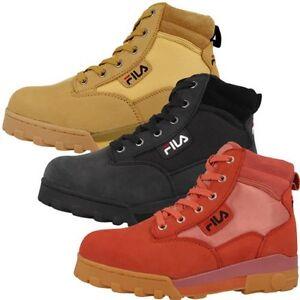 Fila Grunge Mid Femmes Extérieur Chaussures Dames Bottes 4010281 Maverick