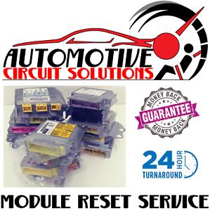 Pontiac SRS Airbag Control Computer Module Reset Service RCM Repair