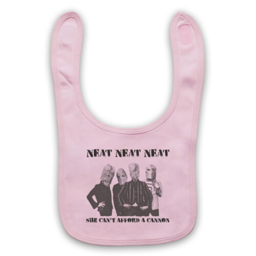 NEAT NEAT NEAT UNOFFICIAL THE DAMNED PUNK ROCK BAND BABY BIB CUTE BABY GIFT