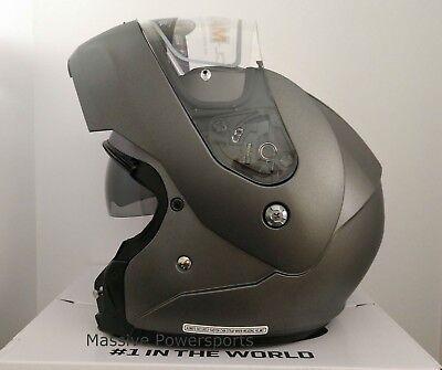 Semi Flat Black//Large 0846-0135-06 HJC Solid Mens CL-MAX 3 Modular Street Motorcycle Helmet