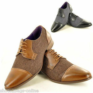 bf8f76d51e3 Details about New Mens Casual Formal Lace Up Smart Wedding Office Shoes UK  Sizes 6 7 8 9 10 11