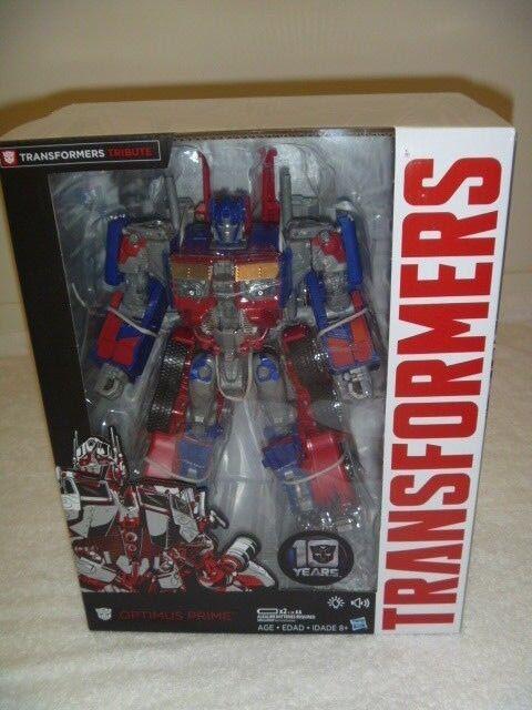Transformers Movie Anniversary Edition Optimus Prime ACTION électronique figures