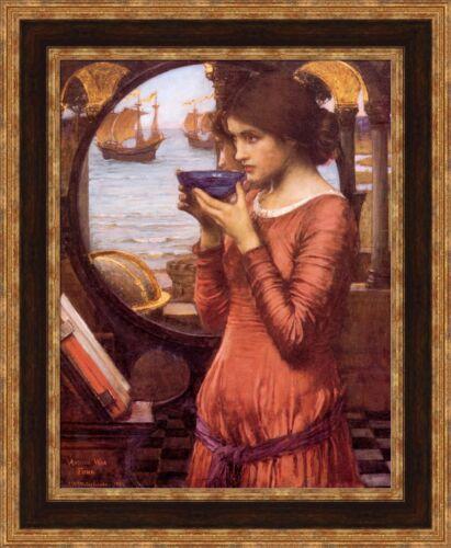 "John William Waterhouse Destiny Framed Canvas Giclee Print 22/""x27/"" V04-03"