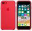 iPhone-8-7-SE2020-4-7-Apple-Echt-Original-Silikon-Schutz-Huelle-Himbeerrot Indexbild 1