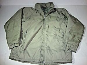 US-Army-Primaloft-Gen-III-Extreme-Cold-Weather-Parka-Jacket-GOOD-CONDITION
