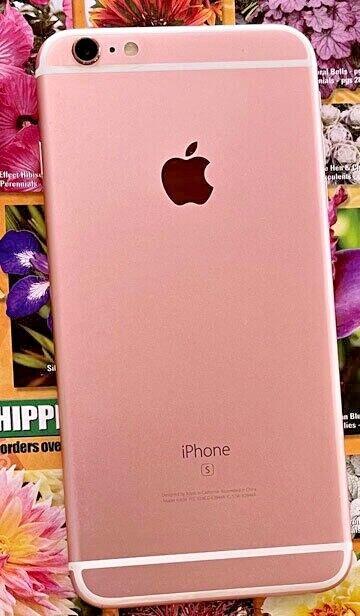 Apple iPhone 6s Plus - 64GB - Rose Gold (Unlocked) A1634 (CDMA + GSM) ORIG. BOX