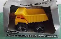 Vintage Remco Fun Toys 1987 Yellow Dump Truck