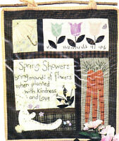 Prairie Grove Peddler Seasons Under Heaven Spring 18x21 Quilted Wall Hanging