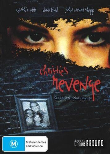 1 of 1 - Christie's Revenge (DVD) THRILLER Cynthia Gibb [ALL REGIONS] NEW/SEALED