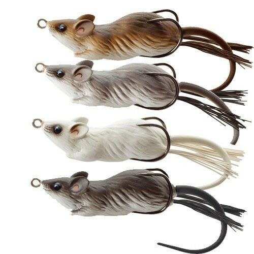 """NEW Koppers Floating Mouse 3/"""" Gray//White MHB60T401"""