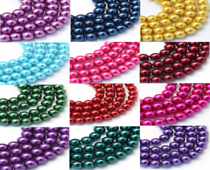16 Color Options Top Quality Czech Glass Pearl Round Beads 4mm 100pcs
