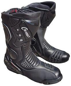 Stivali-Moto-in-pelle-da-per-Pista-39-40-41-42-43-44-45-46-47-48
