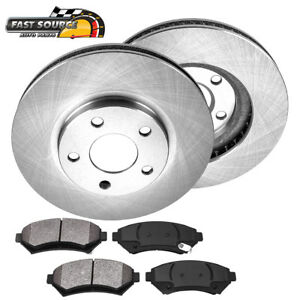 Front-Brake-Rotors-Metallic-Pads-For-Chevy-Impala-Monte-Carlo-Lesabre-Eldorado