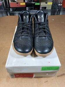 b392349523b4 100% Authentic Nike Kobe 9 Ext Mid Black Mamba Size 10 704286 001