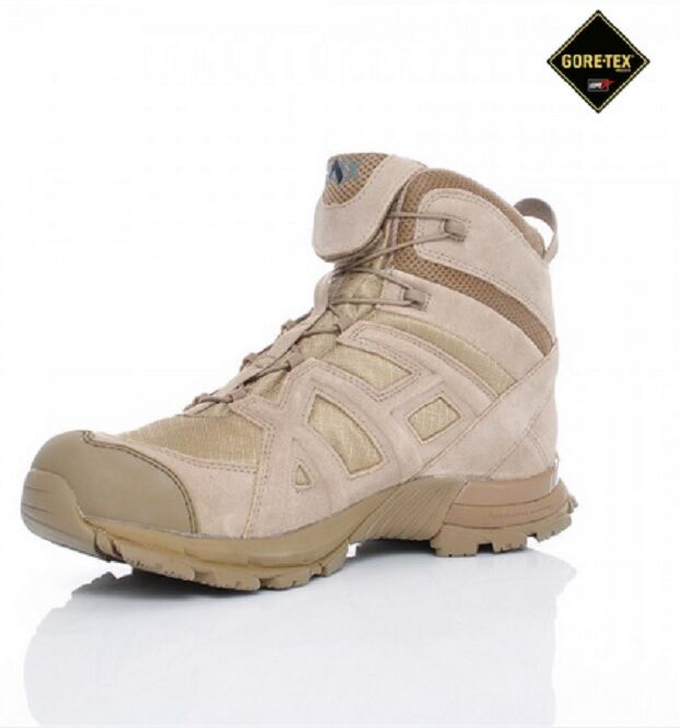 HAIX Negro Eagle Athletic 10 Mid Desert Desert Desert Outdoor Goretex Stiefel Zapatos Gr. 47 9351a9