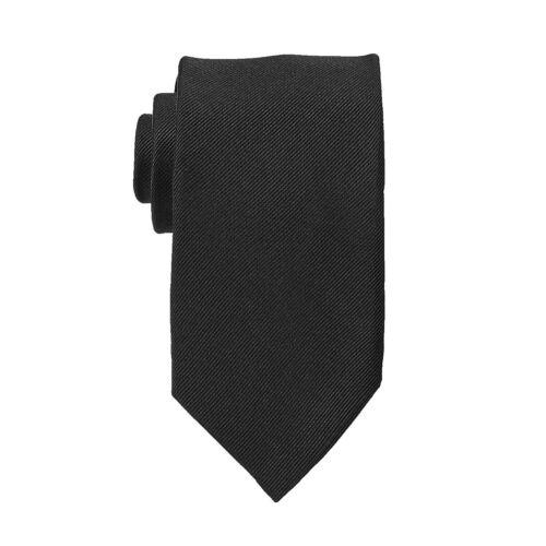 Messieurs En Soie Cravate Business 100/% soie unicolore dans la Longueur Excessive 168 cm