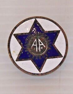 VINTAGE-1931-ALL-FOR-AUSTRALIA-LEAGUE-AFAL-LAPEL-PIN-METAL-BROOCH-TIE-HAT-BADGE
